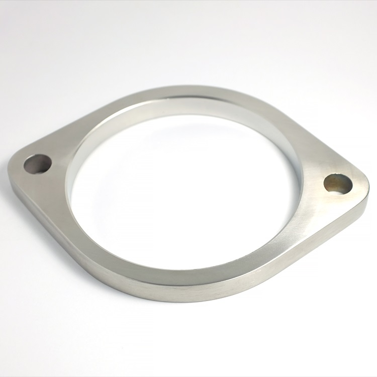 Stainless Bros 2.25 3 Bolt Stainless Steel Exhaust Flange SS304