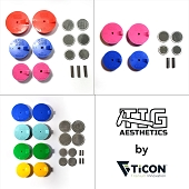 Silicone Purge Plugs (Complete Kit - Exhaust, Header, Manifold) - Tig Aesthetics by Ticon