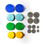 Silicone Purge Plugs (Exhaust Kit 2.5