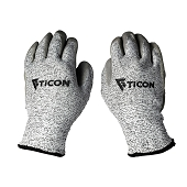 Fabrication Basics Nitrile Coated Anti-Cut 5/Abrasion Resistant Gloves 1 Pair