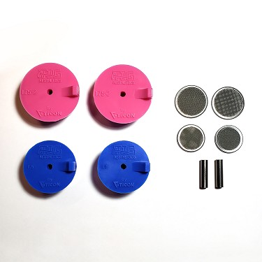 Silicone Purge Plugs (Header Kit) - Tig Aesthetics by Ticon